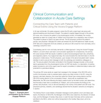 Vocera Platform Whitepaper