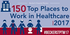 150 top places to work in healthcare 2017