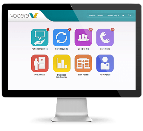 Vocera Good to Go® Patient Discharge Communication