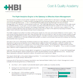 Hbi analytics report